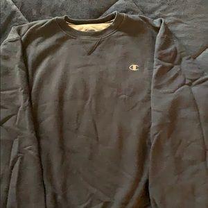90/10 retro Champion XL Men's Navy sweatshirt EUC